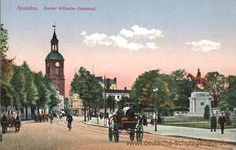 Spandau - Kaiser Wilhelm-Denkmal