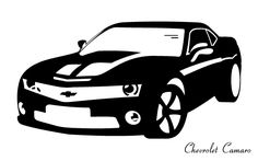 Buy Chevrolet Camaro at cheap price in Houston Texas. We have Chevy Camaro SS Convertible for sale. Visit Camaro car dealership for new and used Chevrolet Camaro Car! Chevrolet Camaro, Camaro Car, 1957 Chevrolet, Car Silhouette, Silhouette Vector, Silhouette Projects, Aston Martin Sports Car, Camaro Ss Convertible, Black And White Flats