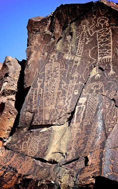 Coso Range Petroglyphs, CA