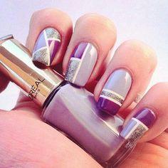 26 Glamorous Nail Art Designs  | See more at http://www.nailsss.com/colorful-nail-designs/2/