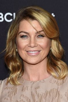 Ellen Pompeo- rumors R flying that Pompeo will exit Grey's after season 12...