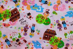Fairy Tale Fabrics - Posted on Apartment Therapy.