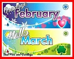 March Months March Hello March Goodbye February Welcome March   Months Of  The Year   Pinterest   March, Birthday Month And Hello March Idea