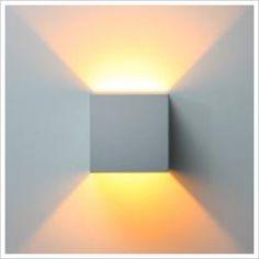 Box Three Surface Mounted Up / Down Wall Light Caribou | Wayfair