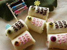 Roll sandwich KOINOBORI for Boy's festival in May 5