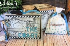 Jeanna Bohanon - mini album made from envelopes Treat Holder, Mini Albums, Gifts For Friends, Stampin Up, Decorative Boxes, Artisan, Crafty, Projects, Cards