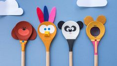 Wooden Spoon Puppets – Hey Duggee