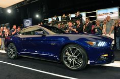 Barrett-Jackson 2014: First production 2015 Ford Mustang earns $300k for JDRF [w/video]
