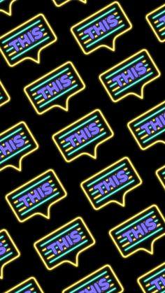 Neon Wallpaper, Wallpaper Backgrounds, Wallpapers, Iphone, Wallpaper, Backgrounds