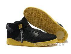 5cf2f2bfa091 Supra Skytop III Mens Black Yellow