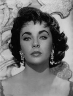 . Elizabeth Taylor... Earrings. Uploaded By www.1stand2ndtimearound.etsy.com