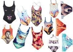 We Are Handsome bathing suits to perfect your man repelling skill beach side.