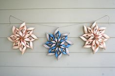 A friend of mine at work used to make these around Christmas time to decorate, she made it look so easy!