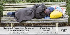 National Homeless Persons' Remembrance Day - First Day of Winter