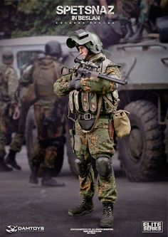onesixthscalepictures: DAM Toys SPETSNAZ in BESLAN : Latest product news for 1/6 scale figures (12 inch collectibles) from Sideshows Collectibles, Hot Toys, Medicom, TTL, Triad Toys, Enterbay and others.