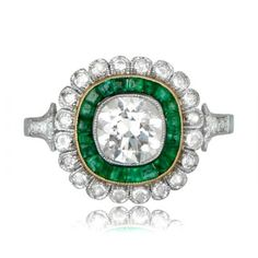 GS159-Emerald-and-Floral-Halo-Engagement-Ring-TV