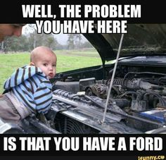 Truck Memes, Funny Car Memes, Haha Funny, Hilarious, Chevy Jokes, Ford Jokes, Chevy Vs Ford, Ford Humor, Funny Cartoon Quotes