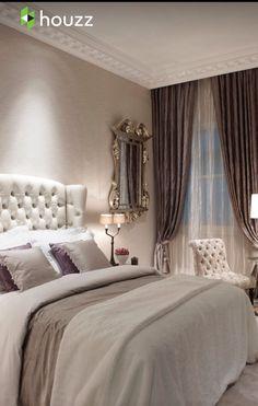 Come scegliere tende tendaggi per la camera da letto stile ...