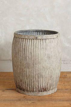 Galvanized Storage Barrel