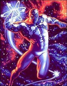 Marvel Comics: the cosmic powered Captain Universe Marvel Comics Superheroes, Marvel Art, Marvel Heroes, Captain Marvel, Marvel Avengers, Dc Comics, Superhero Characters, Comic Book Characters, Comic Books Art