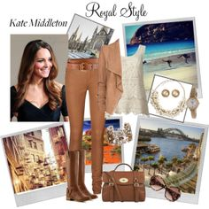 """Dress Kate Middleton for Australia"" by pamelakstanley on Polyvore"