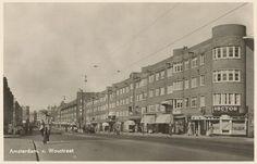 1940's. View on the Van Woustraat in Amsterdam. Photo Jeroen Epema. #amsterdam #1940 #vanwoustraat