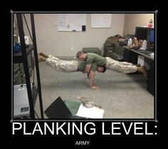 Planking Level Army
