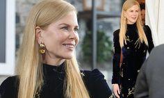 Nicole Kidman, 49, dazzles in a velvet gown at Toronto Film Festival