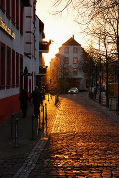 Heidelberg, Germany  Beautiful at sunset!  (Joe Davis Photography)