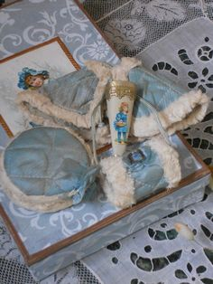 ~~~ Nice French Winter Ensemble in Gift Box ~~~ from whendreamscometrue on Ruby Lane
