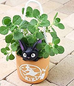 Ghibli Kiki's Delivery Service planter cover [Gigi's delivery] From Japan New