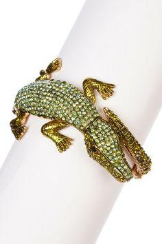 Alligator Bangle