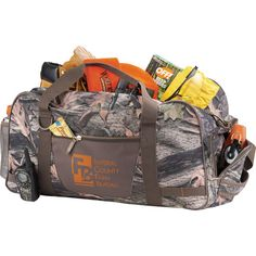 This Hunt Valley Camo 22 Duffel from Leeds Exclusive design is a perfect item for the hunter within. The Camouflage duffel is one type of Camo products. Made of quiet and brushed polyester, this modern.