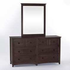 Beautiful Dresser With Mirror And There Are 8 Drawer Bedroom Dressers, Bedroom  Sets, Kids