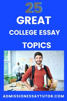 When choosing a college essay topic you don't need to choose a scholarly topic or some world-shattering event. The admissions officer doesn't want a lesson in history or social economics, but rather wants to learn about you as a person. Here you will find examples of the best essay topic and a step-by-step workshop tutorial to teach you how to write an outstanding college application essay. #CollegeApplicationEssay #CollegeEssayExamples #EssayTopicsforCollege Good Essay Topics, College Essay Topics, College Essay Examples, College Admission Essay, College Application Essay, Social Economics, High School Writing Prompts, Essay Tips, Dream School