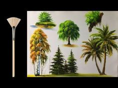 Acrylic Painting Lesson - The Cabin in the Woods by JM Lisondra - YouTube