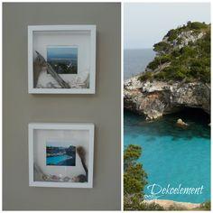 Dekoelement: Urlaubsbilderrahmen - Urlaubserinnerungen im Ribba Bilderrahmen