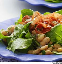 Warm salad, Almond recipes and Almonds on Pinterest