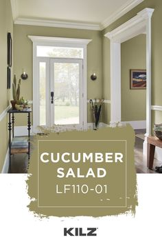 CUMIN SEED is one of over 800 colors from KILZ®. Entryway Paint Colors, Kitchen Paint Colors, Room Paint Colors, Paint Colors For Living Room, Paint Colors For Home, House Colors, Paint Colors With White Trim, Neutral Paint, Dark Wood Trim