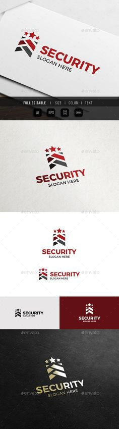 Army Security  Military Service Logo — Vector EPS #security #military • Available here → https://graphicriver.net/item/army-security-military-service-logo/12282957?ref=pxcr