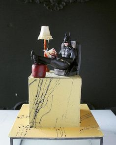 Russian cake artist is making pure perfection out of confection Photos) Beautiful Cakes, Amazing Cakes, Lumberjack Cake, Russian Cakes, Batman Cakes, Food Artists, Funny Cake, Superhero Cake, Almond Cakes