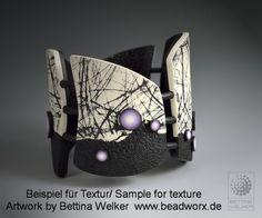 Sizoweb Textur für Arbeiten mit Polymerclay | PolymerClay.de