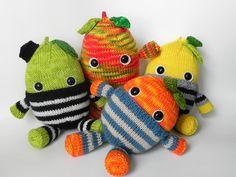 The Froot Loops Gang by No Knit Sherlock!, via Flickr