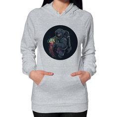 JellySpace Hoodie (on woman)