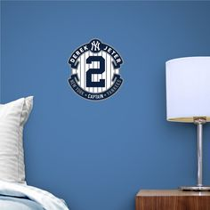 derek jeter teammate logo - New York Yankees Bedroom Decor
