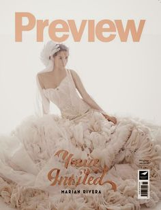 December 2014 - January 2015 cover Liz Uy, Soiree Party, Marian Rivera, Country Magazine, Lifestyle Trends, The Crown, Look Fashion, One Shoulder Wedding Dress, Ball Gowns