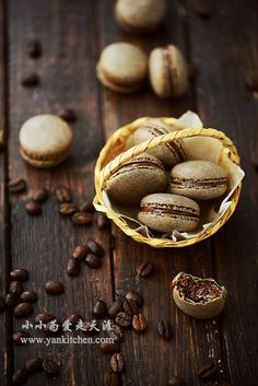 Coffee Macaroons — Yankitchen
