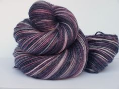 Superwash Merino/Tencel Hand Dyed Fingering/Sock Yarn by Quaere