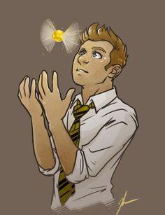 clint/coulson avengers | ... clint barton # hogwarts au # hufflepuff clint # look i drew something THIS IS BEAUTIFUL