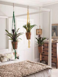 Hanging plant pots #decor #inspiration #LoveNature